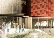 Otago Polytechnic artist impression of Trade Training Centre